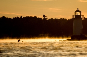 Kayaking the 1000 Islands, Garden of the Great Spirit