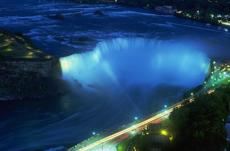Niagara Falls At Night Credit OTMPC