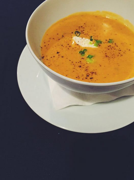 Old Flame Cheddar Soup