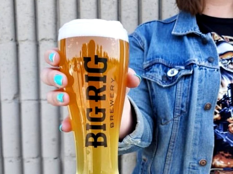 Beer at Big Rig Brewery