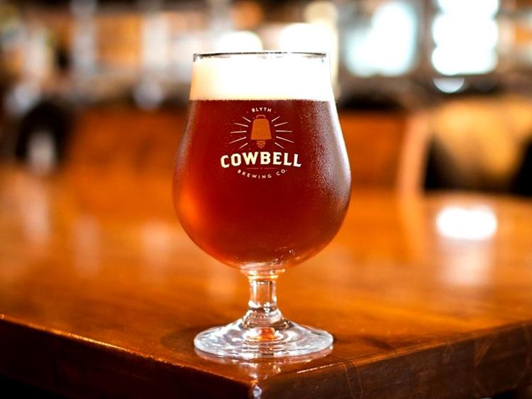 Beer at Cowbell Brewing