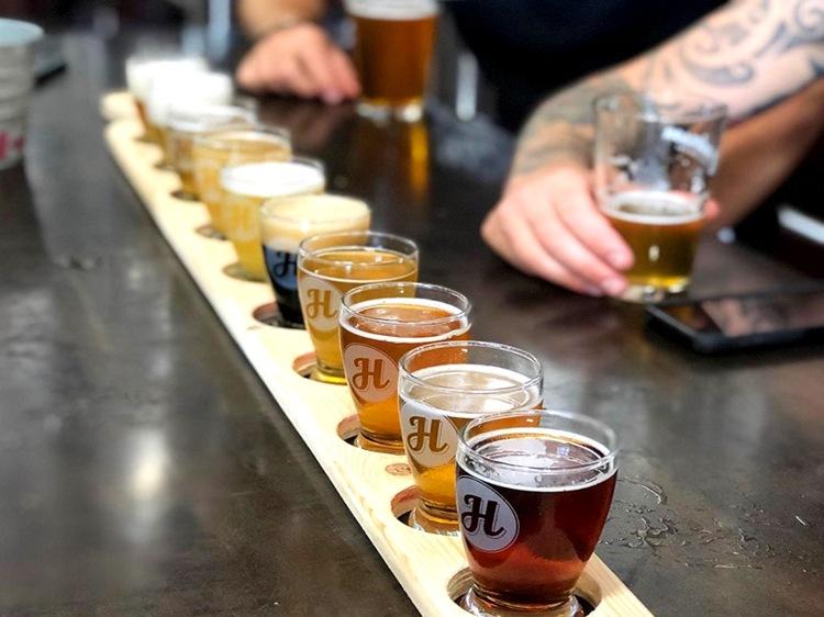 Beer at Henderson Brewing
