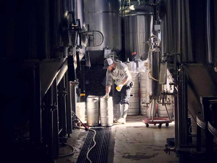 Brewmaster at Old Flame Brewing